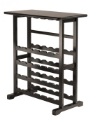 Vinny Wine Rack 24-Bottle With Glass Hanger