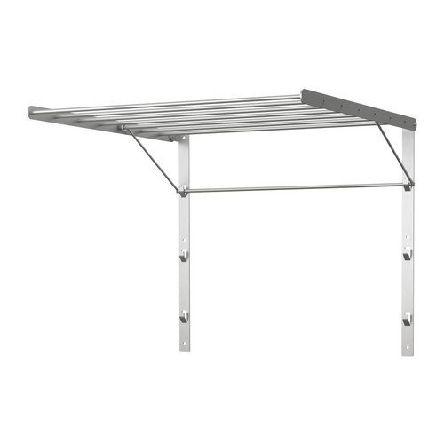 ea6350397b2 Ikea Wall Mount Clothes Drying Rack 60cm Stainless Steel Foldable Laundry  Hanger Grundtal by Ikea - Shop Online for Homeware in New Zealand