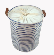 The Navy Style Household Essentials Laundry Basket