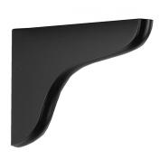 John Sterling 0138-7BK Decorative Wood Corbel, 18cm , Black