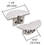 """CRL Drill-Thru Shelf Support for Cable System for 3/8"""" to 1/2"""" (10 to 12 mm) Glass"""