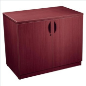 Offices to Go Storage Cabinet with Lock - American Mahogany