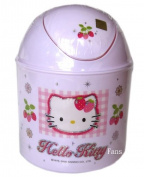Hello Kitty Mini Size Trash Can - Small Garbage Containers