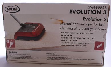 Ewbank 830UKR Evolution 3 Manual Sweeper