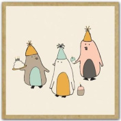 Greengift-Notes - Birthday Penguins