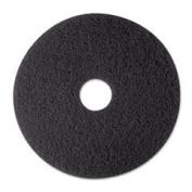 MMM08375 Stripper Floor Pad 7200, 33cm , Black, 5 Pads/Carton