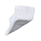 6 PCS Microfiber Replacement Pads for Shark Steam Mop - White