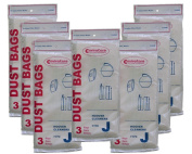 21 Hoover Type J 4010010J, #405396, 625871 Canister Tank Vacuum Cleaner Bags Model Constellation, Portable 822, 822A, 858, 862, 864, 867, 867A, SC362, 2017, 2106, 2154, 2209