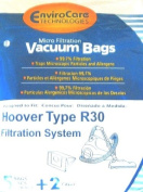 Hoover R30 Bag 5 Pack EnviroCare with 2 filters