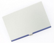 New - Purple Aluminium Business Card Case - V107BPU