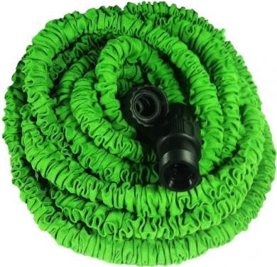 eFuture(TM) Green Flexible and Expanding Garden Water Hose +eFuture's nice Keyring