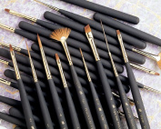 Best Synthetic Sable Miniature Watercolour and Acrylic Mini Brush Round 0