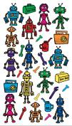 Classic Stickers Colour Robots