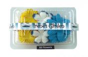 Flower Pack Yellow/White/Royal