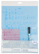 Blue Hills Studio Value Lettering Stencil Set