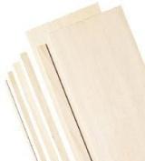 7.6cm Wide Balsa Wood Sheets 0.08cm