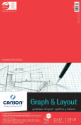 28cm x 43cm Graph and Layout Sheet Pad