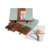 Bruynzeel Design Coloured Box of 48 Pencil Set - Art Supplies