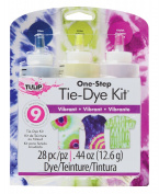 Vibrant Tie-Dye Kit for 8 Shirts