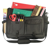 Deluxe Traveller Messenger Bag Black