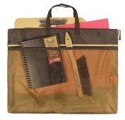 46cm x 60cm Dual Zippered Pocket Fabric Mesh Bag