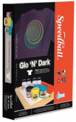 Glo 'N' Dark Fabric Screen Printing Kit