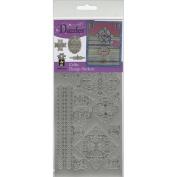 Dazzles Stickers-Silver Celtic