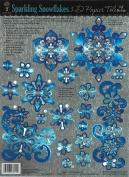 3-D Papier Tole Foil Die-Cuts - Snowflakes