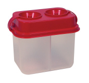Dual Chamber Water Container