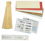0.6cm Scale Architectural Model Building Kit