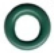 Round Eyelet 0.3cm Pine Green