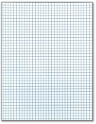 Scholastic 10cm x 10cm Quad Ruled Pad