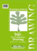 13cm x 18cm Premium Heavy Drawing Paper Pad
