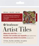 10cm x 10cm Watercolour Artist Tiles