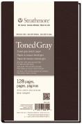 14cm x 22cm Sewn Bound Toned Grey Sketch Art Journal