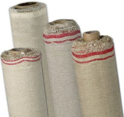 84 x 6yd Linen Oil Primed Canvas Roll