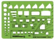 House Plan & Plumbing Template