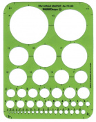 Alvin TD445 Circle Master Template