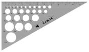 30cm Aluminium Triangle 30/60