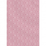 The Mitford Collection Hvy-Weight Background Card Sheet 8x12-Chantilly Rose