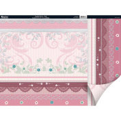 English Riviera Double-Sided Plus Cardstock 30cm x 30cm -Pink