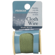 Cloth Covered Spool Wire 30'/Pkg-Green