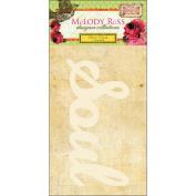 Soul Food Glitter Chipboard Word Sticker-Soul