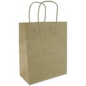 "Tinted Kraft Bags X-Large 33cm x 40cm X6""-Natural Kraft"