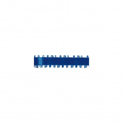 Feather-Edge Double Face Satin Ribbon 1cm Wide 20 Yards-Royal Blue