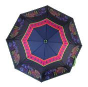 Laurel Burch Compact Umbrella 110cm Canopy Auto Open/Close-Dog & Doggies