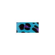 Mini Duck Tape .190cm Wide 15' Roll-Blue Leopard