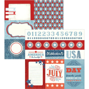 ADORNit Monthly Cut Apart Double-Sided Cardstock 30cm x 30cm