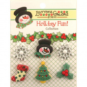 Holiday Buttons-Winter Wonderland