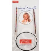 Premier Yarns Deborah Norville Fixed Circular Needles, 32-Inch, 8/5mm